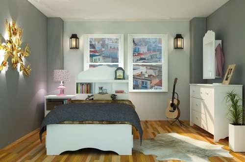 Interior Furniture Bedroom Mattress Decoration