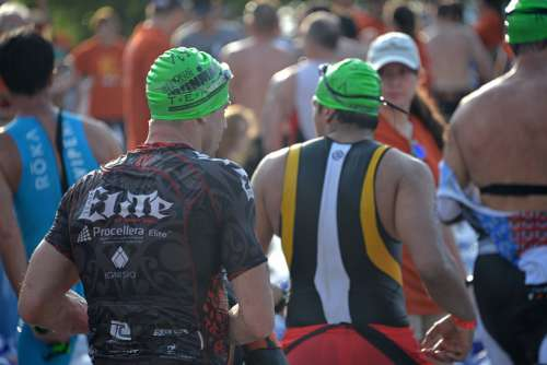 Ironman Race Triathlon Competition Fitness