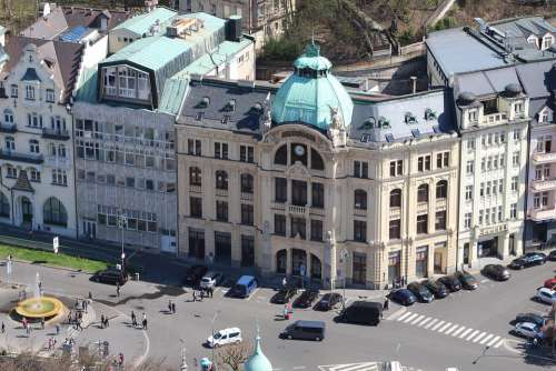 Karlovy Vary Building Architecture Hotels Spa