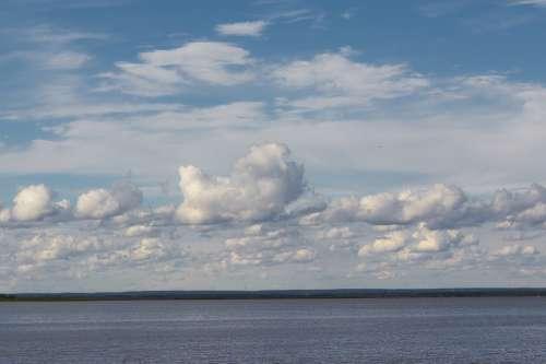 Landscape Clouds Sea Nature Water