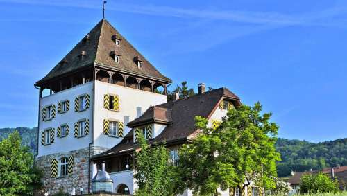 Landscape Architecture Switzerland Manor House