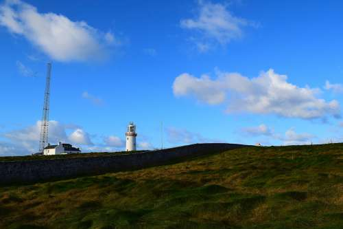 Lighthouse Nature Sky Landscape Building Ireland