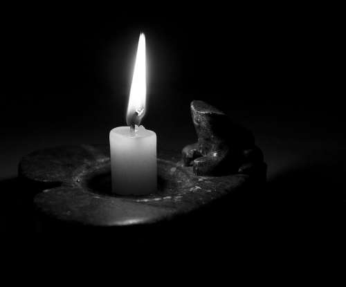 Luz Luz De Vela Light Vela Candle Ambiente Night