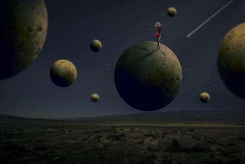 Manipulation Spherical Woman Arid Stars