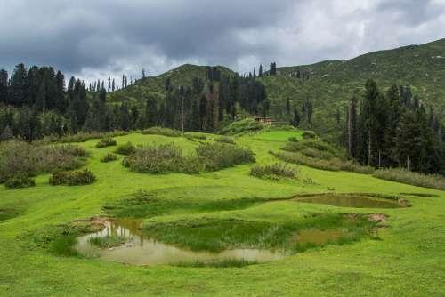 Meadows Green Pakistan Travel Pakistan Snow Line