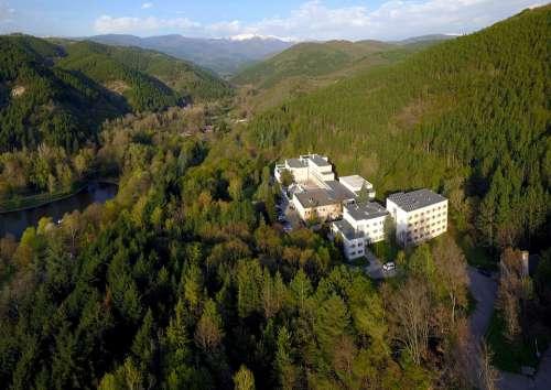 Mountain Bulgaria Landscape Aerialphotography