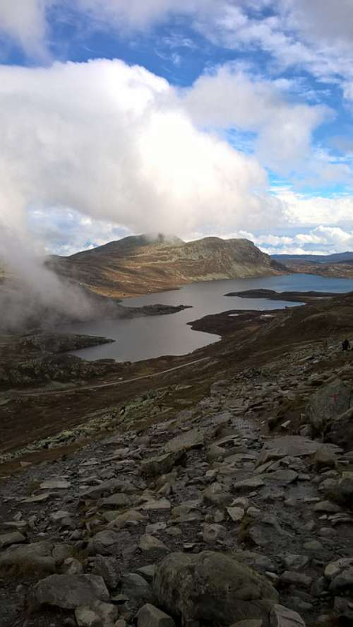 Mountains Clouds Norway