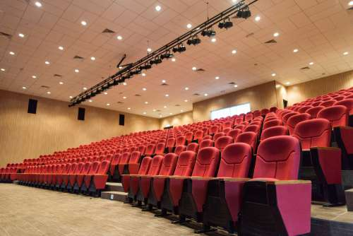 Movie Seat Cinema Theater Hall Chairs