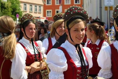 Music Band Costume Brass Band Bavaria Music Human