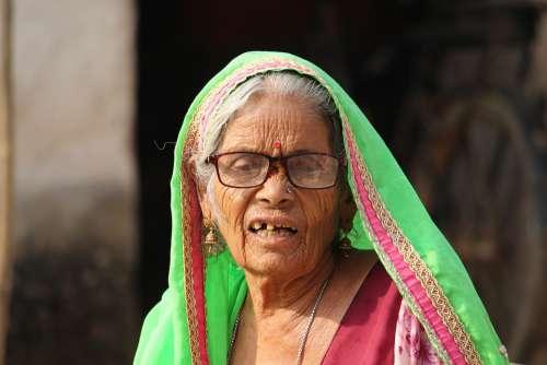 Old Women Old Lady Old Women People Portrait
