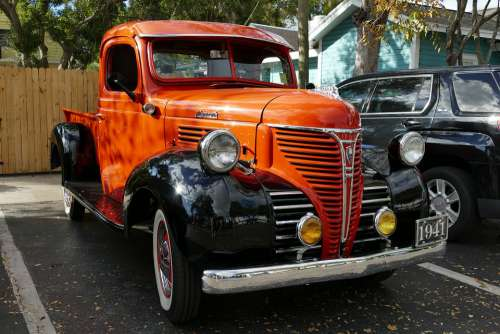 Oldtimer Auto Classic Vehicle Automotive Retro