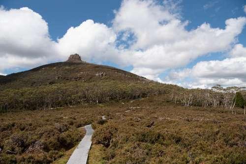 Overland Track Tasmania Nature Wilderness Landscape