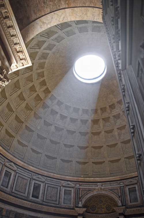 Pantheon Architecture Ancient Building Italy