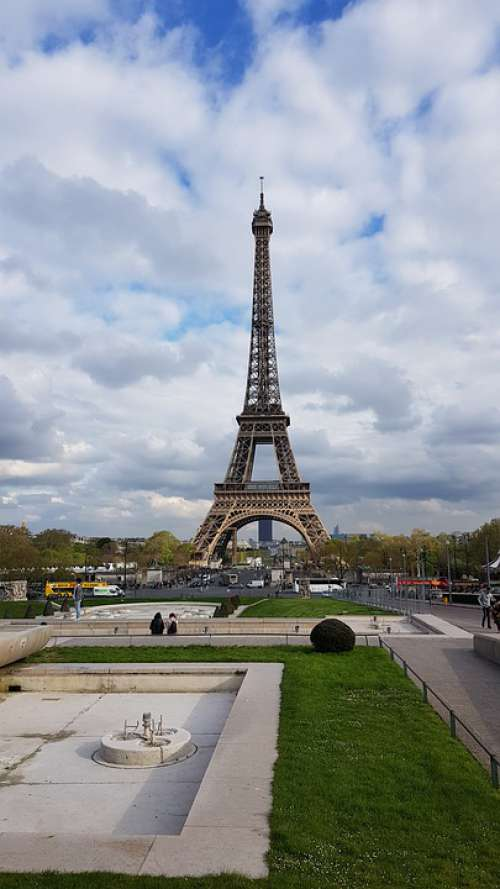 Paris Eiffel France Monument Architecture Tower