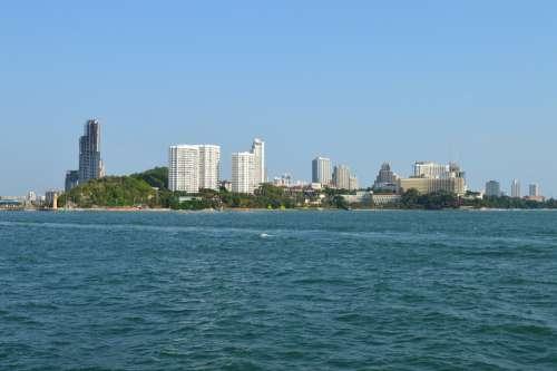 Pattaya Bay Pier Quay Resort Thailand Tourism