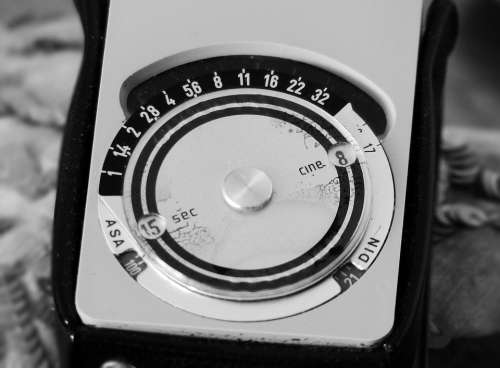 Photography Analog Exposure Meter Nostalgia Old