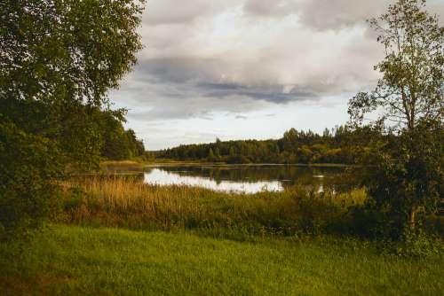 Pushkinskiye Gory Memorials Showplace Landscape