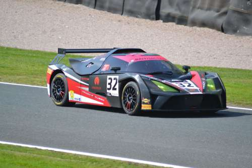 Race Car Automobile Speed Track Gt Racing