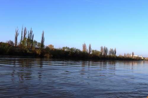 River Arad Romania Transylavanie Mures Water
