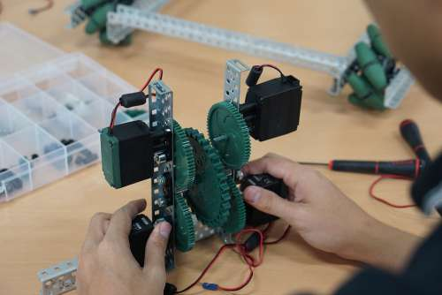 Robotics Robot Building Creating Making Creativity