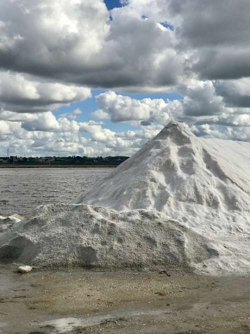 Saline Salt Clouds Nature Landscape