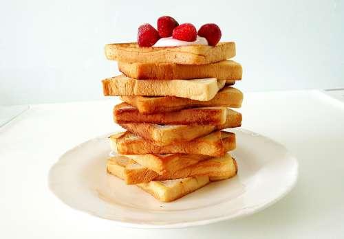 Sandwich Bread Toast Eat Food Delicious Breakfast