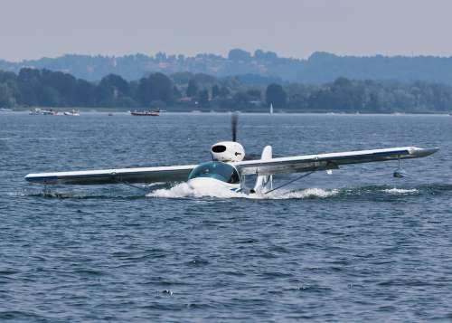 Seaplane Water Plane Transport Sea Flight