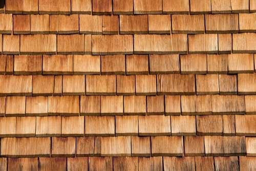 Shingle Wood Shingles Facade Facade Cladding