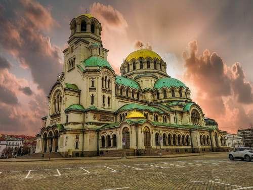 Sofia Bulgaria Architecture Cathedral Religion