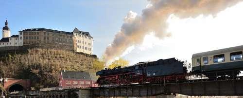 Steam Locomotive Museum Train Tank Locomotive