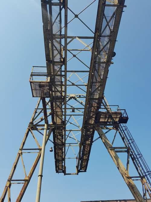 Steel Mill Industry Industrial Ruin Old Lapsed