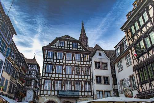 Strasbourg France Architecture Building Cathedral