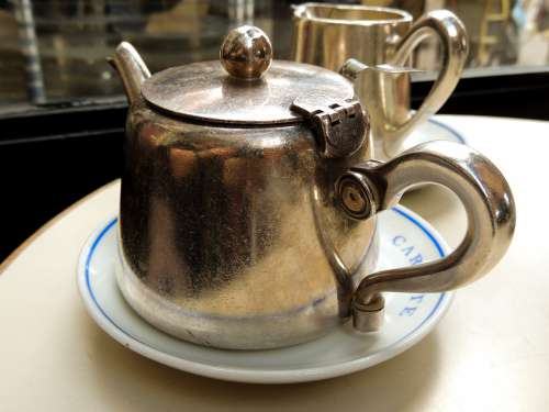 Teapot Kitchen Retro Antique Container Vintage