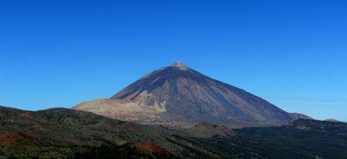 Teide Teneriffa Tenerife Spain Volcano Landscape