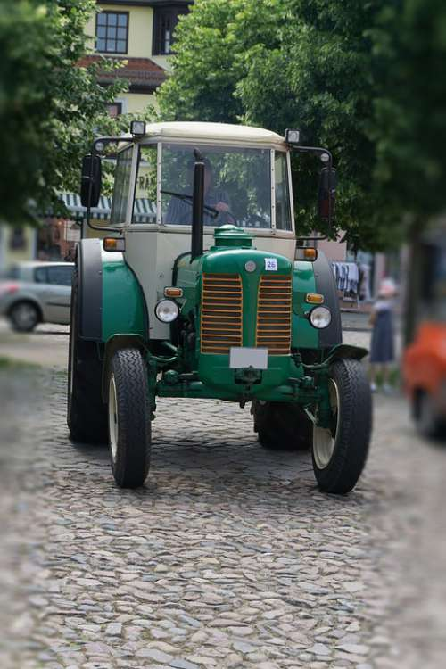 Tractor Old Oldtimer Agriculture Historically