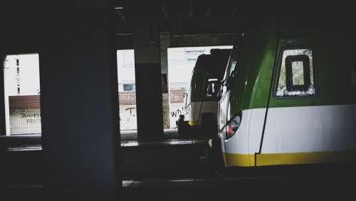 Train Station Metro Transport Subway Platform