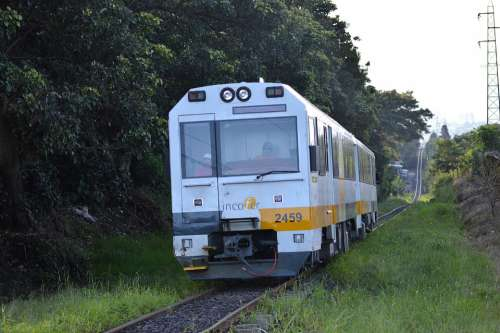 Train Rail Railway Rails Transport Tracks