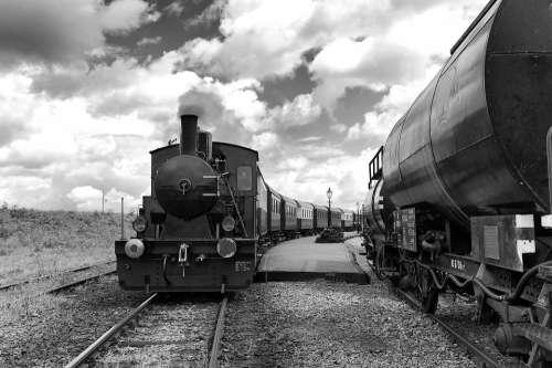 Train Steam Railway Locomotive Railroad Nostalgia