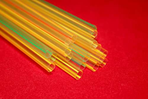 Tube Straw Cocktail Drink