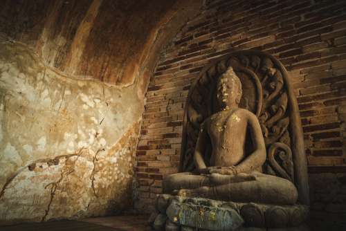 Wat Temple Mai Thailand Chiang Old Buddhism