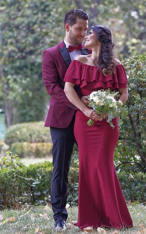 Wedding Godparents Love Bouquet Flowers Feelings