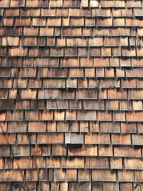 Wood Shingles Wood Roof Architecture Building