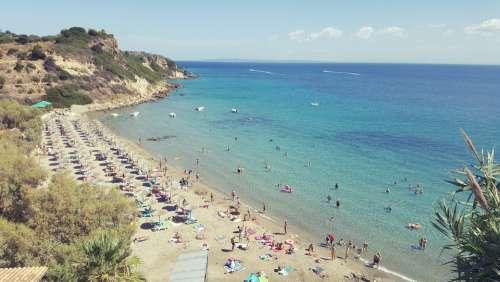 Xi Beach Kefalonia Resort Sea Vacation Greece