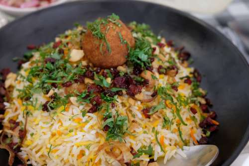 Indian Food Bhel Puri