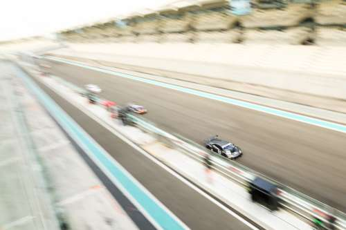 Car 99 Takes the Lead In A Blur Of Speed Photo