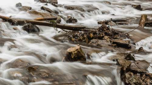 Close Up Of Riverbed Photo