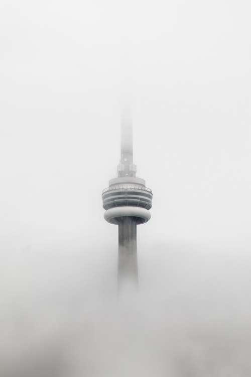 CN Tower In Fog Photo