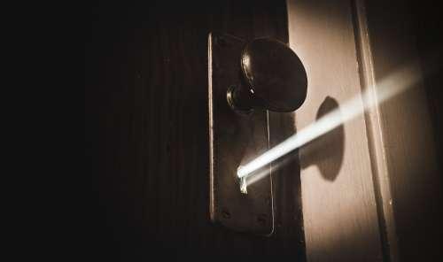 Mysterious Keyhole Light Photo