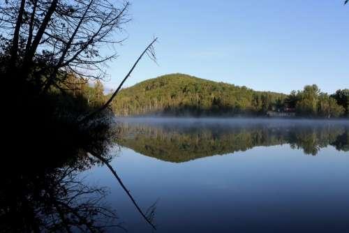Calm Lake Reflection