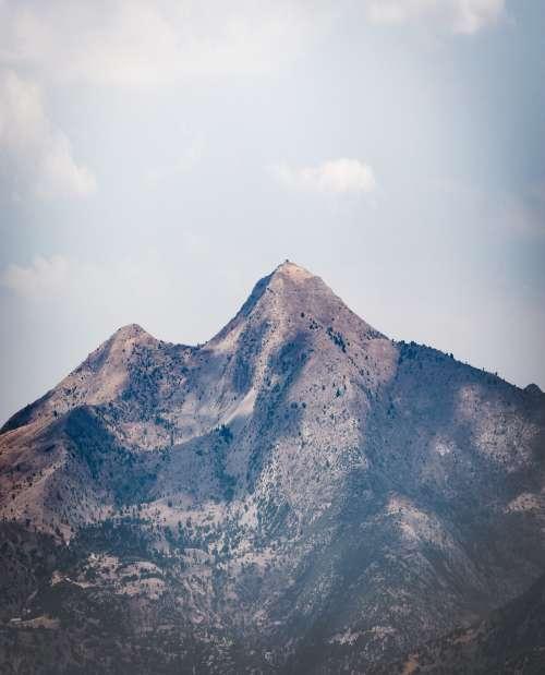 A wild mountain